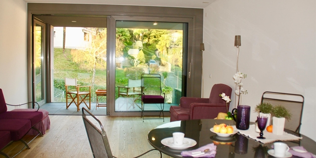 Modern apartment, in green, quiet and brand new residence