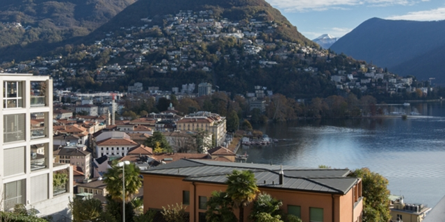 4,5 room apartment for sale, Lugano lake view! Central location!
